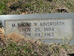 M. Naomi <i>W.</i> Ainsworth