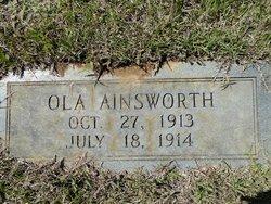 Ola Ainsworth