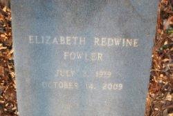 Elizabeth <i>Redwine</i> Fowler