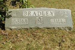 Julia Blanche <i>Barnes</i> Bradley