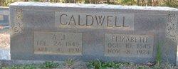 A. J. Caldwell