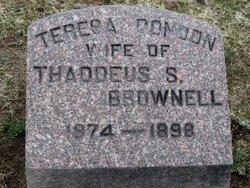 Teresa <i>Condon</i> Brownell