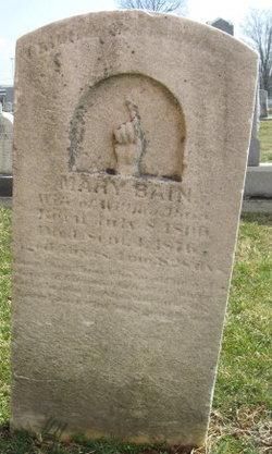 Mary <i>Britten</i> Bain