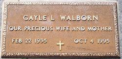 Gayle Lavonne <i>Huselton</i> Walborn