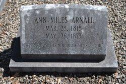 Nancy Miles Ann <i>Miles</i> Arnall