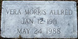 Vera Ophelia <i>Morris</i> Allred