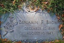Benjamin Franklin Brown