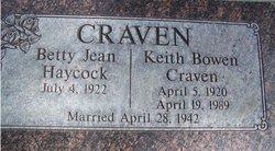 Keith Bowen Craven