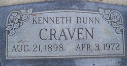 Kenneth Dunn Craven