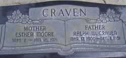 Esther <i>Moore</i> Craven
