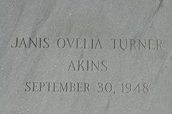 Janis Ovelia <i>Turner</i> Akins