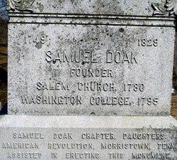 Rev Samuel Doak