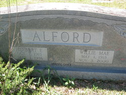 Willie Mae <i>Thornhill</i> Alford