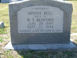 Mrs Minnie Bell <i>Provence</i> Bedford