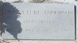 Donna Asenath <i>Luke</i> Anderson