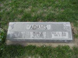 Pearl Marie <i>Sitter</i> Adams