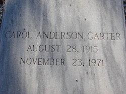 Carol Lucile <i>Anderson</i> Carter