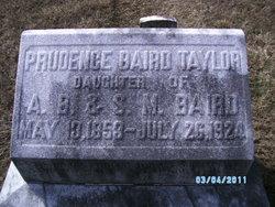 Prudence <i>Baird</i> Taylor