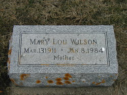 Mary Lou <i>Phillips</i> Wilson