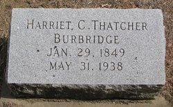 Harriet Clarinda <i>Thatcher</i> Burbridge