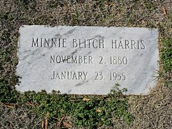 Minnie Overton <i>Blitch</i> Harris