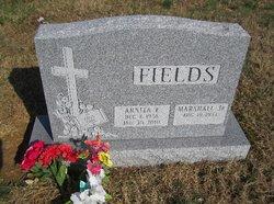 Arnita E <i>Burris</i> Fields