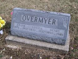 Louisa <i>VanDuyne</i> Overmyer