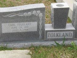 Carl Edward Folkland