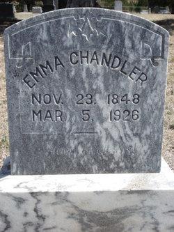 Emma <i>Browning</i> Chandler