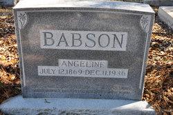 Angeline <i>Evans</i> Babson