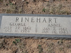 Annie Paralee <i>Collinsworth</i> Rinehart