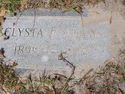 Clysta R Adams