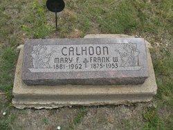 Mary Faustina <i>Moore</i> Calhoon