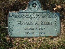 Harold A. Klein