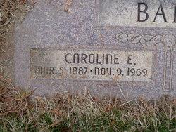 Caroline Elizabeth <i>Winter</i> Barr