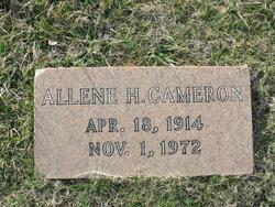 Allene H <i>Hobby</i> Cameron