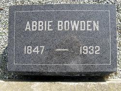 Abbie A. <i>Small</i> Bowden