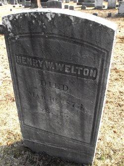 Henry W Welton, Sr