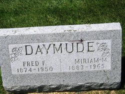 Miriam M <i>Peterson</i> Daymude