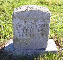 Dealie Virginia Biddix