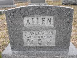 Ada Pearl <i>Orebaugh</i> Allen