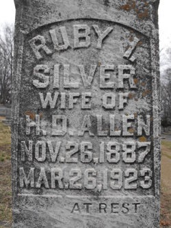 Ruby I <i>Silver</i> Allen