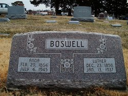 Luther Boswell