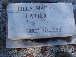 Lilla Mae <i>Oglesbee</i> Carter