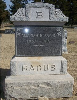 Amaziah B Baccus