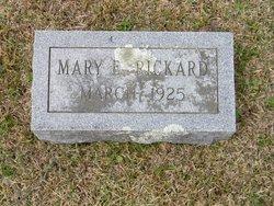 Mary E <i>Barrett</i> Rickard