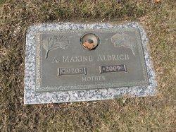 A. Maxine Aldrich