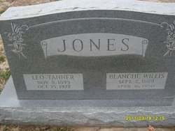 Blanche <i>Willis</i> Jones