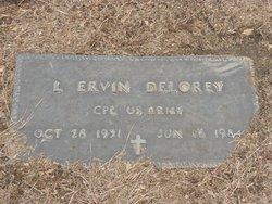 Corp L Ervin Delorey