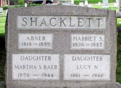 Martha S <i>Shacklett</i> Baer